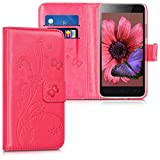 kwmobile Wallet Case for Lenovo C2 - PU Leather Protective