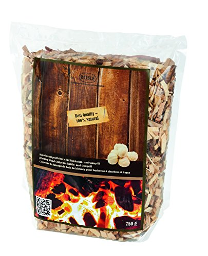 Rösle 25103 Räucherchips Hickory, braun, 750 g (Bbq Smoke-box)