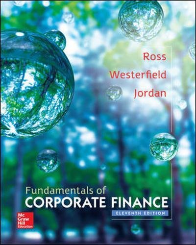 Fundamentals of corporate finance (Economia e discipline aziendali)