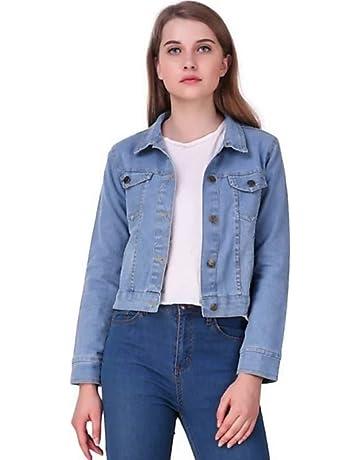 ea00333cf064c KING-DENIM Shree Kmt Enterprises Full Sleeves Comfort Fit Regular Collar  Blue Jacket for Women