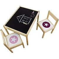 Kreidefolie Ideenreich für deinen Kinder passend für deinen IKEA LÄTT Kindertisch - Möbel nicht inklusive preisvergleich bei kinderzimmerdekopreise.eu