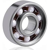 LUCKLYSTAR® Rodamiento Central 608 cojinete para Juguete Rodamiento de Bolas de Híbridos de Cerámica 1PCS