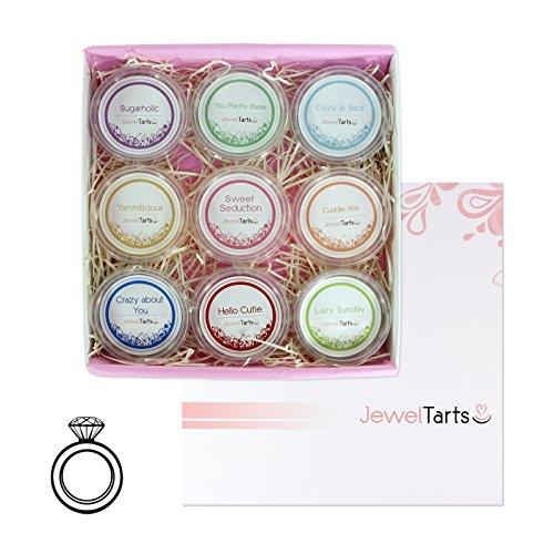 JuwelKerze, JewelTarts Box Scented Fairy Tale mit 925 Sterling Silber-Schmuck-Überraschung (Ring)