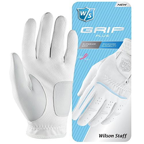 Wilson Staff Damen Golfhandschuh, Mehrgewebekonstruktion, Größe S, Links, -
