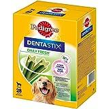 Pedigree DentaStix Fresh Hundeleckerli für große Hunde, Kausnack gegen Zahnsteinbildung, Für gesunde Zähne und einen frischen Atem, 1er Pack (1 x 4 Pack)