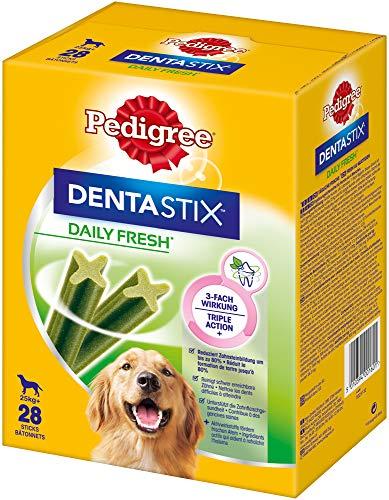 Pedigree Hundesnacks Hundeleckerli Dentastix Daily Fresh Zahnpflege 1080 g, 4er Pack (4 - Pedigree Dentastix