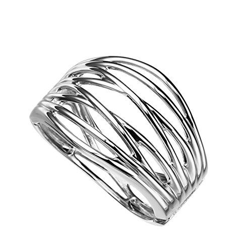 versione larga della moda del braccialetto/ accessori moda/Linee semplici esagerata openwork