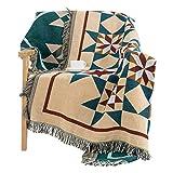 FOREVER-YOU Die Decken Nordic Baumwolle Decke Klimageräte Decke Decke Sofa Blanket Herbst und Winter dick,125 * 150 cm.