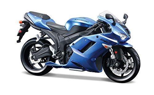 Maisto-kit-modelo-Kawasaki-Ninja-ZX-6R-Motobike-112-de-la-escala-RT39155-NUEVO