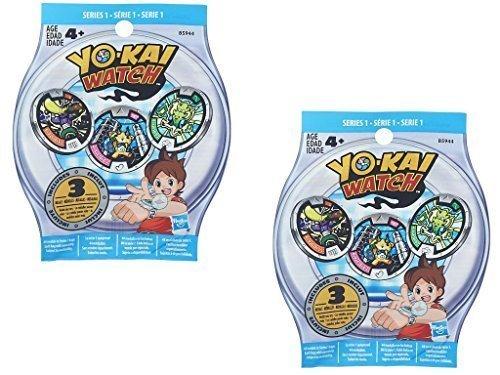 yo-kai-season-1-medals-two-blind-bags-6-random-medals-by-yokai