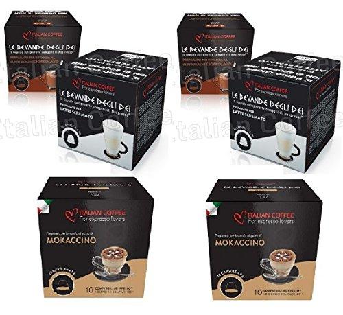 Capsulas Compatibles Nespresso Chocolate con Leche Degustacion 60 Cápsulas