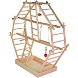 Trixie 5659 Wooden Ladder Playground 44 × 44 × 16 cm