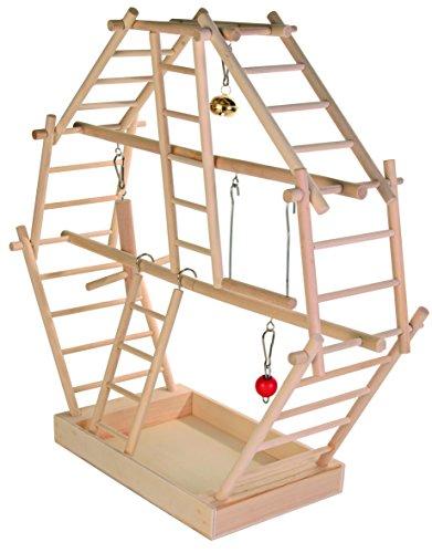 Trixie 5659- Gioco con scaletta di Legno 44× 44× 16cm