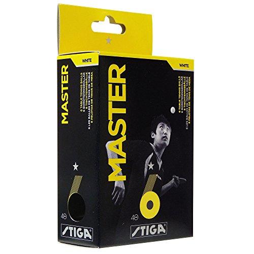 Stiga Master Confezione 6 Palline Ping Pong