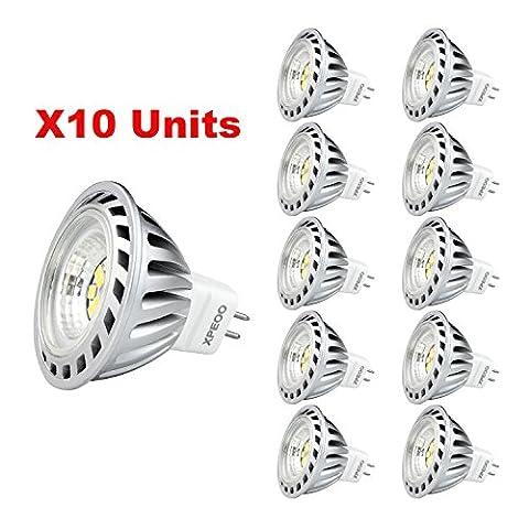 Xpeoo® 10 Stück 6W LED MR16 Gu5,3