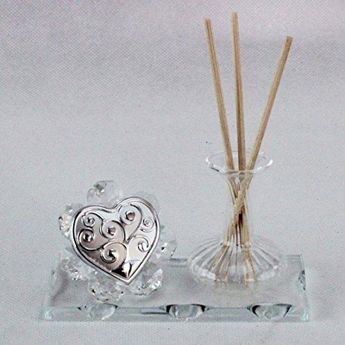 Dlm24776-trasparente profumatore in vetro soffiato albero della vita_trasparente bomboniera