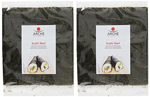 Arche Algues Nori pour Sushis 17 g - Lot de 2