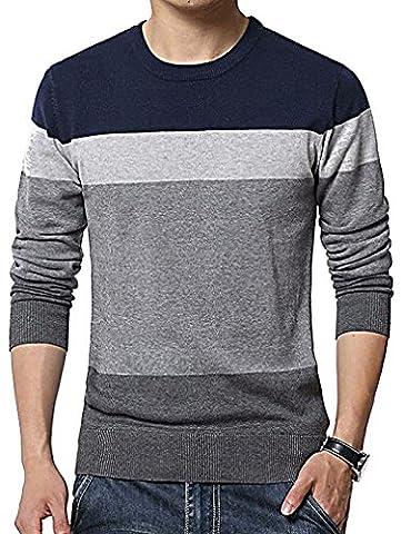 Men24 - Sweat-shirt - Manches Longues - Homme - violet - Medium