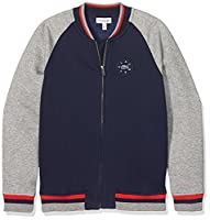 Lacoste Boy's SJ2969 Maternity Sweatshirt, Multi-Coloured (Penombre/Aluminium Chin?�), 12 Years (Manufacturer Size: 12A)