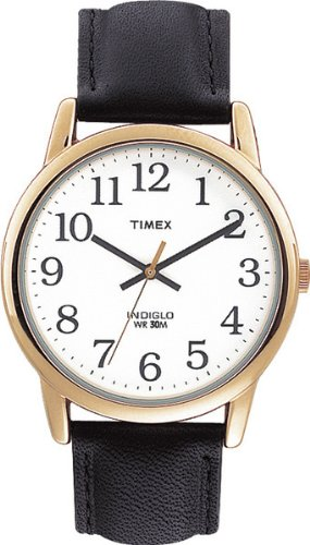 timex-mens-t20491-quartz-easy-reader-watch-with-white-dial-analogue-display-and-black-leather-strap
