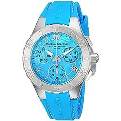 TechnoMarine TM-115084 - Reloj de pulsera Mujer, Silicona, color Azul