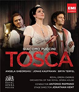 Puccini Tosca Royal Opera House 2011 Blu-ray from EMI CLASSICS.