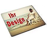Custom DE-008, Geschenk Gift Individuelle Personalisierte Mousepad Mauspad Maus-Pad Stark Anti Rutsch mit eigenem ihr Foto Motiv Namen Design Text. Allen Maustypen (Kugel, Optisch, Laser).