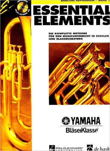 Essential Elements, für Bariton/Euphonium, m. Audio-CD
