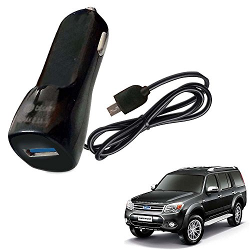 Vheelocityin Bluei 6 Month Warranty Car USB Charger Fast Charging USB Charger For Ford Endeavour Old