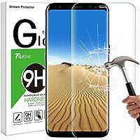 Galaxy S8 Plus Panzerglas Schutzfolie, Rusee Vollständige Abdeckung Galaxy S8 Plus Panzerglasfolie Displayschutzfolie Displayschutz Blasenfrei, HD Ultra-klar, Anti-Kratzer für Samsung Galaxy S8+ Plus