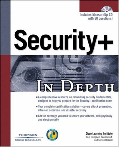 Security+ in Depth por Steven Boswell