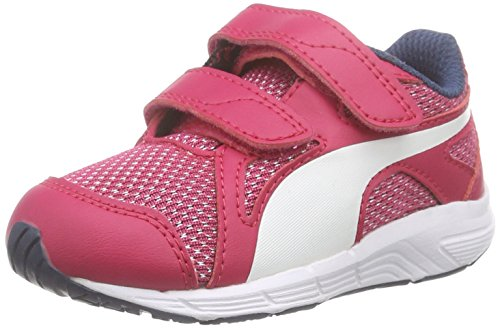Puma Axis V4 Mesh V Kids Unisex-Kinder Low-Top Pink (rose red-white 02)