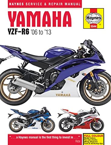 Yamaha YZF R6 Repair Manual Haynes Service Manual Workshop Manual