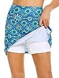 MAXMODA Damen Tennis/Hockey/Golf Sport-Hosen Rock/Skort, Winddicht mit viel Farbe