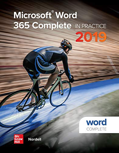 Microsoft Word 365 Complete: In Practice, 2019 Edition (English Edition)
