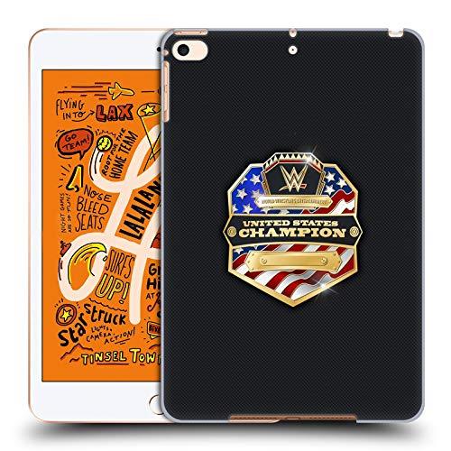 Head Case Designs Offizielle WWE United States Champion Weltmeistertitel Harte Rueckseiten Huelle kompatibel mit iPad Mini (2019)