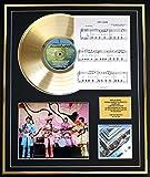 THE BEATLES CD GOLD DISC UND PHOTO UND SONG SHEET DISPLAY/LIMITIERTE AUFLAGE/COA/ALBUM, THE BEATLES 1967 - 1970 /SONG SHEET, HEY JUDE