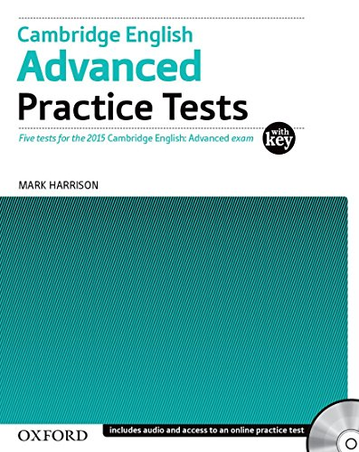 Cambridge English: Advanced Practice Tests: Cambridge English Advanced Practice Test without Key Exam Pack 3rd Edition (Cambridge Advanced English (CAE) Practice Tests)