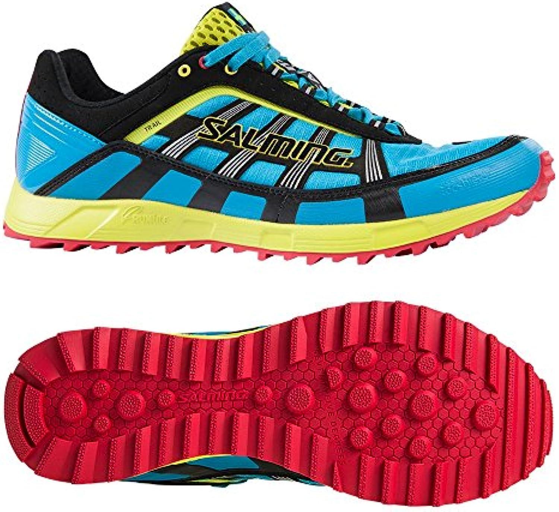 Salming Trail T1 zapatillas deportivas - Azul Cian, 11.5 GB