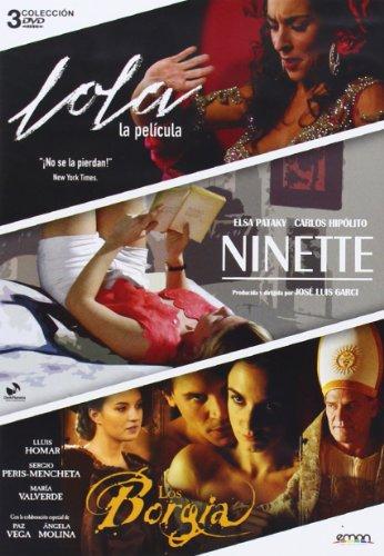 Pack: Ninette + Los Borgia + Lola: La Película (Import) (Dvd) (2014) Elsa Pataky Lola Pack