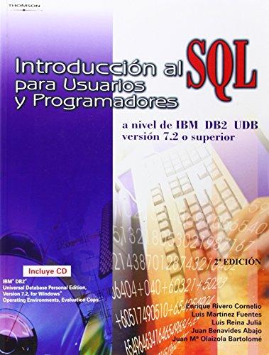 Introducción al sql para usuarios y programadores
