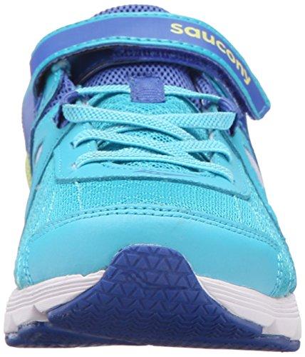 Saucony Kotaro 3 Alternative Closure Sneaker (Little Kid/Big Kid) Turquoise/Citron