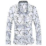 ODRD Herren T Shirts, Oversize Shortsleeve Mens-Sommer-Art- und Weisehemden Beiläufige Lange Hülsen-Strand-Oberseiten Lösen Bluse Vintage Jugend Blouse Tops Basic Shirt