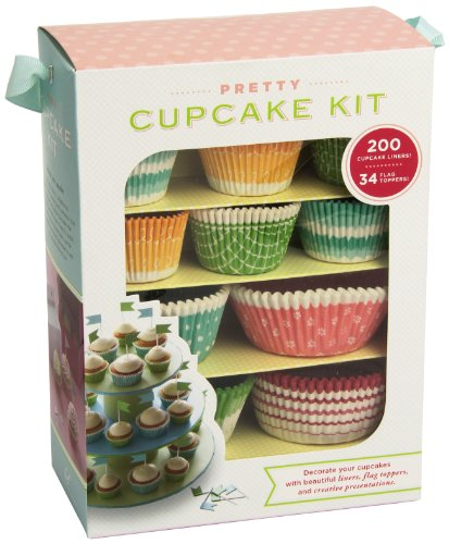 Pretty Cupcake Kit: Decorate Your Cupcakes Instantly with Beautiful Liners