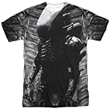 Thierry Mugler Alien Creature Feature (Avant arrière) d'impression par Sublimation Mens Shirt White LG