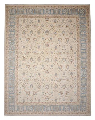 Ziegler Farahan Alfombra Alfombra Oriental 353x272 cm, Pakistán Anudada a mano Clásica