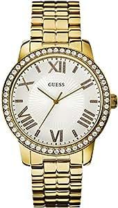 Guess - W0329L2 - Montre Femme - Quartz Analogique - Cadran Argent - Bracelet