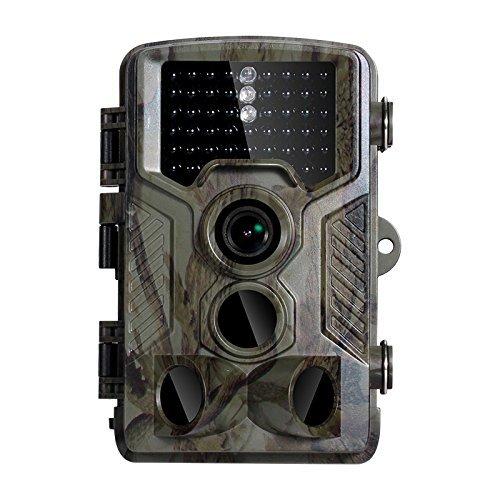 Sweet Alice 8MP CMOS Wildkamera fotofalle 1080P HD Jagdkamera Überwachungskamera 20m Nachtsicht 2.4