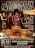 Musikschau Schottland - Essen 2011 Konzert-Poster A1