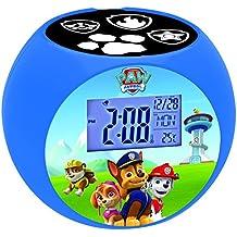 Patrulla Canina - Reloj despertador con proyector (Lexibook RL975PA)